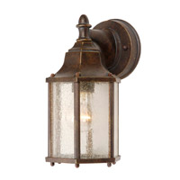 Signature 1 Light 11 inch Heritage Bronze Wall Sconce Wall Light