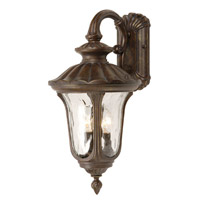 Mariana Signature 2 Light Outdoor Lantern in Heritage Bronze 709137