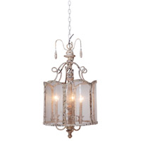 Mariana Signature 3 Light Pendant in Weathered Ecru 711616