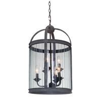 Mariana Wesley 6 Light Pendant in Vintage Iron 760643