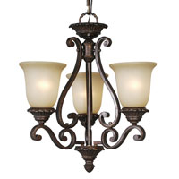 Mariana Imports Sonoma 3 Light Chandelier in Tortoise 770386