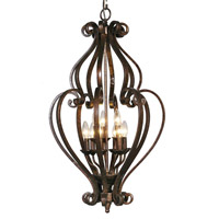 Mariana Imports Sonoma 9 Light Chandelier in Tortoise 773686