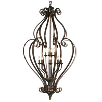 Mariana Imports Sonoma 12 Light Cage Chandelier in Tortoise 775486