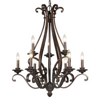 Mariana Imports Sonoma 9 Light Chandelier in Tortoise 779986