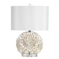 Mariana Seashell 1 Light Table Lamp in Shell White 830003