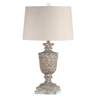 Mariana Signature 1 Light Table Lamp in Antique Washed 830006