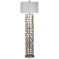 Mariana 830017 Edison 64 inch 60 watt Silver Floor Lamp Portable Light