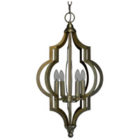 Cassidy 4 Light 13 inch Champagne Pendant Ceiling Light