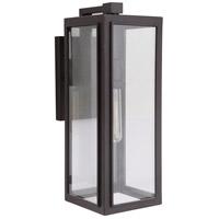 Mariana 860690 Elm 1 Light 16 inch Dark Bronze Outdoor Wall Lamp Small