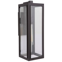 Mariana 860790 Elm 1 Light 21 inch Dark Bronze Outdoor Wall Lamp Medium