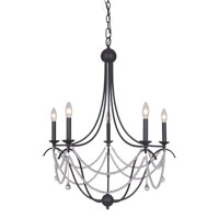 Mariana Allure 5 Light Chandelier in Urban Bronze 930573