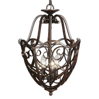 Mariana Imports Signature 3 Light Foyer Lantern in Bronze 980023