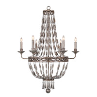Mariana Beaded Palace 6 Light Chandelier in Washed Stone Resin 980071