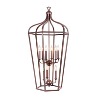 Mariana Cage 9 Light Pendant in Bronze 980075