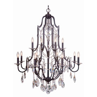 Mariana Adorned 12 Light Chandelier in Aged Venezia 980084