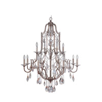 Adorned 12 Light 37 inch Vintage Champagne Chandelier Ceiling Light