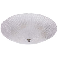 Mariana 980103 Fountaine 6 Light 24 inch Silver Flush Mount Ceiling Light Large