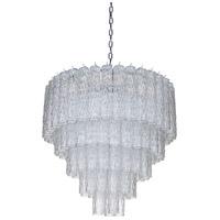 Mariana 980108 Kensal 10 Light 30 inch Clear Glass Chandelier Ceiling Light
