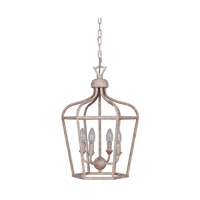 Cage 5 Light 14 inch Weathered Ecru Cage Lantern Ceiling Light