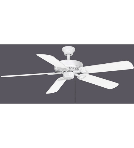 Matthews Fan Co Am Tw Wh 42 Atlas America 42 Inch Gloss White With Reversible White Light Oak Wood Tone Blades Ceiling Fan In No Light Kit Atlas