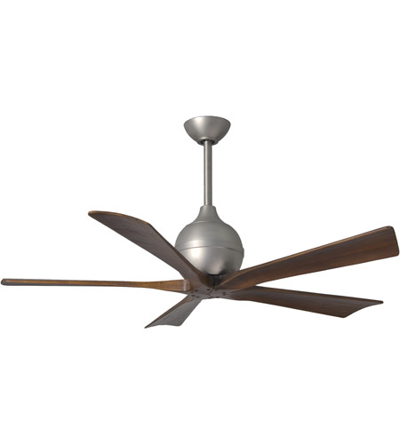 Brushed Nickel Irene-5 Outdoor Fans