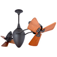 Matthews-Gerbar by Matthews Fan Company Ar Ruthiane Ceiling Fan in Bronze with Mahogany Blades AR-BZ-WD