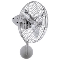 Matthews Fan Co BP-BN-MTL Bruna Parede 16 inch Brushed Nickel Wall Fan, Directional