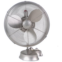 Matthews Fan Company Cinni Table Fan in Brushed Nickel CI-BN