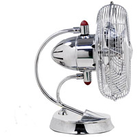 Atlas by Matthews Fan Company Cinni Portable Fan in Polished Chrome CI-CR