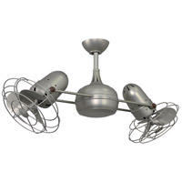 Dagny 39 inch Brushed Nickel Ceiling Fan, Atlas