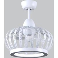 Matthews Fan Co DM-MWH-MWH Dana 20 inch Matte White Ceiling Fan Atlas