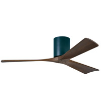 Irene 52 inch Matte Black with Walnut Tone Blades Ceiling Fan, Atlas