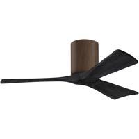 Matthews Fan Co IR3H-WN-BK-42 Atlas Irene 3H 42 inch Walnut with Matte Black Blades Ceiling Fan, Atlas