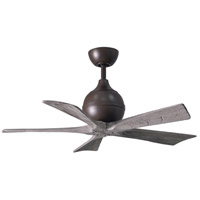 Matthews Fan Co IR5-TB-BW-42 Irene-5 42 inch Textured Bronze with Barn Wood Tone Blades Indoor-Outdoor Ceiling Paddle Fan