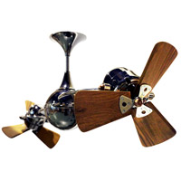 Matthews Fan Company Italo Ventania Ceiling Fan in Black Nickel IV-BKN-WD
