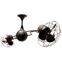 Italo Ventania 53 inch Bronze with Bronze Metal Blades Ceiling Fan, Rotational