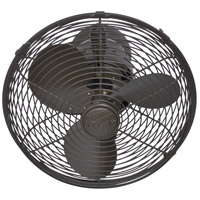 Matthews Fan Co KC-TB Kaye 27 inch Textured Bronze Outdoor Wall Fan, Oscillating