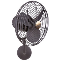 Matthews Fan Co MP-BZ-MTL Michelle Parede 16 inch Bronze Wall Fan, Directional