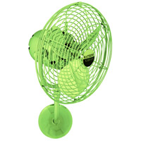 Michelle Parede 16 inch Jade Outdoor Wall Fan, Directional