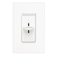 Matthews Fan Co SFS5E-WH Lutron Skylark Gloss White Fan Wall Switch Designer Slide
