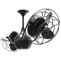 Vent-Bettina 42 inch Matte Black with Black Blades Ceiling Fan, Matthews-Gerbar