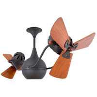 Vent-Bettina 42 inch Bronze with Mahogany Blades Ceiling Fan, Matthews-Gerbar