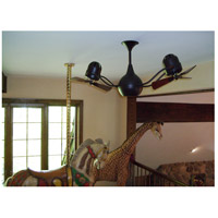 Vent-Bettina 42 inch Polished Brass Ceiling Fan, Matthews-Gerbar