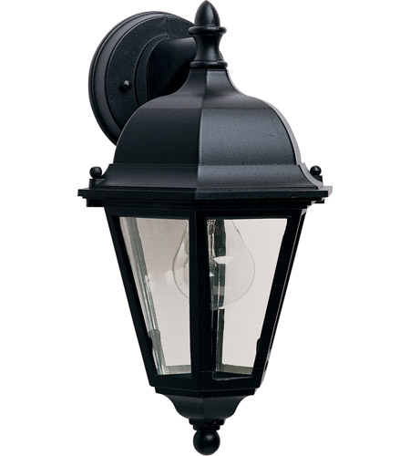 Maxim Lighting Westlake 1 Light Outdoor Wall Mount in Black 1000BK photo