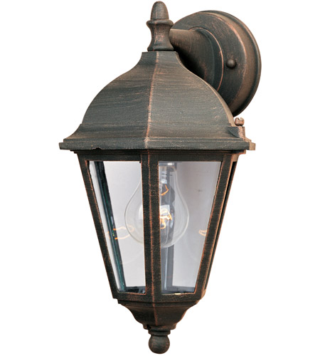 Maxim Lighting Westlake 1 Light Outdoor Wall Mount in Rust Patina 1000RP photo
