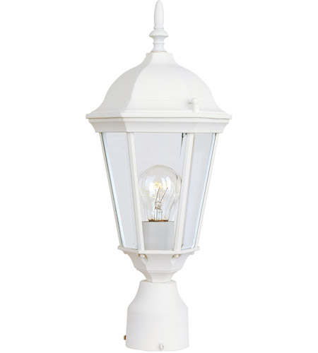 Maxim 1001WT Westlake 1 Light 19 inch White Outdoor Pole/Post Lantern photo