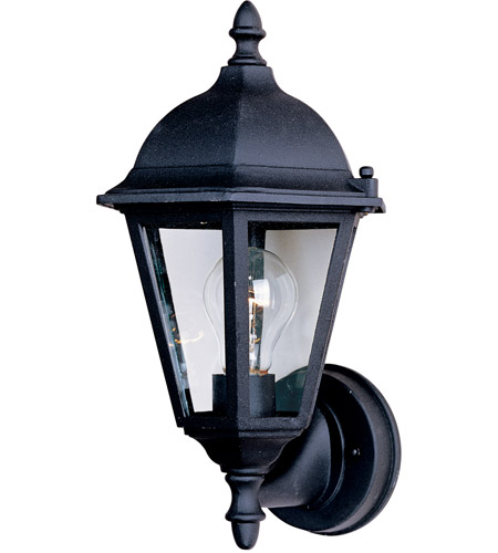 Maxim 1002BK Westlake 1 Light 15 inch Black Outdoor Wall Mount photo