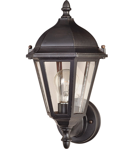 Maxim Lighting Westlake 1 Light Outdoor Wall Mount in Empire Bronze 1002EB photo