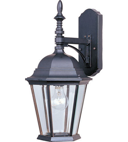 Maxim 1004EB Westlake 1 Light 19 inch Empire Bronze Outdoor Wall Mount photo