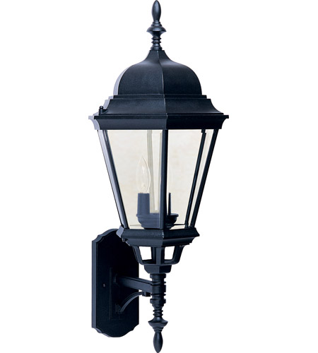 Maxim Lighting Westlake 3 Light Outdoor Wall Mount in Black 1006BK photo